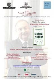 Il Governo della cultura - presentazione 16 maggio 2014